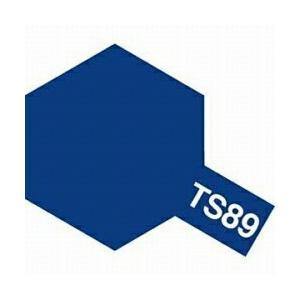 タミヤカラー TS-89 パールブルー つやあり スプレー塗料(ミニ)【RCP】 llhat