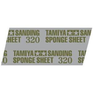 タミヤメイクアップ材 タミヤ研磨スポンジシート320【ゆうパケット可】【RCP】|llhat