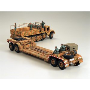 タミヤ 1/35   ミリタリーミニチュアシリーズ No.246  18トン重ハーフトラック 戦車運搬車【35246】|llhat