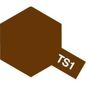 タミヤカラー TS-1 レッドブラウン つや消し スプレー塗料(ミニ)【RCP】|llhat