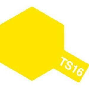 タミヤカラー TS-16 イエロー つやあり スプレー塗料(ミニ)【RCP】 llhat
