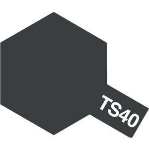 タミヤカラー TS-40 メタリックブラック つやあり スプレー塗料(ミニ)【RCP】 llhat