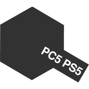 タミヤカラー PS-5 ブラック ポリカーボネート専用スプレー塗料(ミニ)【RCP】