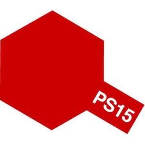タミヤカラー PS-15 メタリックレッド ポリカーボネート専用スプレー塗料(ミニ)【RCP】|llhat