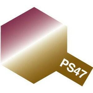 タミヤカラー PS-47 偏光ピンク/ゴールド ポリカーボネート専用スプレー塗料(ミニ)【RCP】 llhat