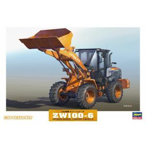1/35 日立建機 ホイールローダ ZW100-6【プラモデル】【ハセガワ】|llhat