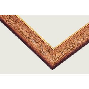 ゴールドモール木製パネル49×35cm MP058<ウォールナット> 【ゆうパケット不可】|llhat