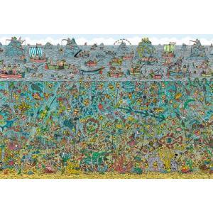 2000スモールピース ジグソーパズル  Where's Wally? 深海のダイバー【S92-504】【72×49cm】【ビバリー】|llhat