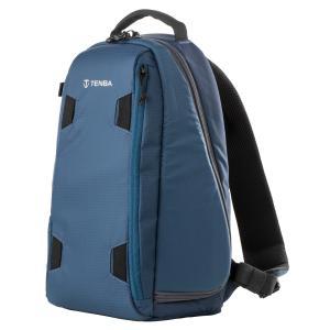 TENBA (テンバ) ソルスティス 7L スリングバッグ ブルー /カメラリュック コンパクト カメラバッグ|locadesign