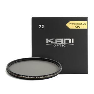 KANI PLフィルター プレミアムサーキュラーPL 72mm CPL / 丸枠 円偏光 レンズフィルター|locadesign