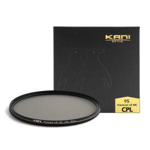 KANI PLフィルター プレミアムサーキュラーPL 95mm CPL / 円偏光 レンズフィルター 丸枠|locadesign