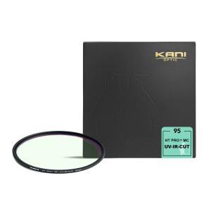 KANI シャープカットフィルター UV-IRカット 95mm / レンズフィルター 紫外線 赤外線吸収 丸枠|locadesign