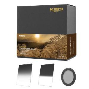 KANI 角型フィルター ランドスケープベーシックセット 風景撮影セット/ 角形フィルター レンズフィルター|locadesign