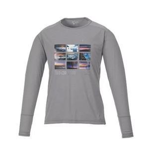 KANI オリジナルロングTシャツ グレーL|locadesign