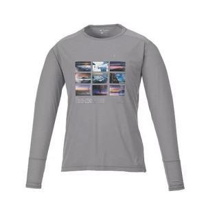 KANI オリジナルロングTシャツ グレーM|locadesign