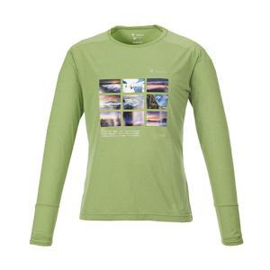 KANI オリジナルロングTシャツ グリーンL|locadesign