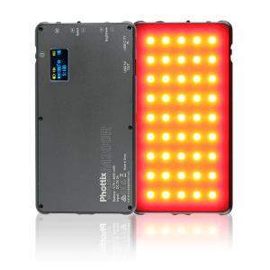 Phottix ( フォティックス )  M200R RGB LIGHT / 動画 写真 撮影 に最適。 コンパクト 高演色 LED ライト|locadesign