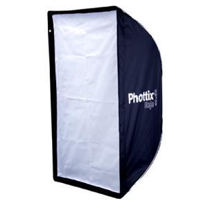 Phottix ( フォティックス )  Raja Quick-Folding Softbox 60×90cm / 傘のように素早く展開 ソフトボックス  ボーエンズマウント付属|locadesign