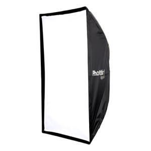 Phottix ( フォティックス )  Raja Quick-Folding Softbox 80cm×120cm / 傘のように素早く展開 ソフトボックス  ボーエンズマウント付属|locadesign