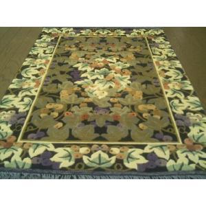 魅了のシルクロード芸術!!中国シルク絨毯 (約6畳相当) 客間|local-tokitoki