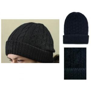 ペルーアルパカ100%WOOL帽子/ニット帽 ブラック黒 ニット レディース メンズ 防寒 対策 雪 保温性 古代マチュ ピチュ|local-tokitoki