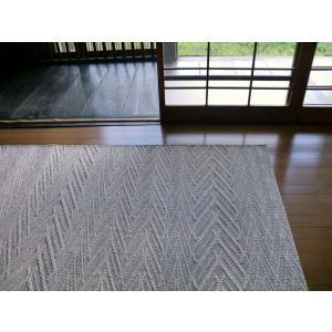 ヨーロピアン クラシック 127×189 約 1.5畳 ラグ ベルギー製 フラットループ 洗える ラグマット 北欧 カーペット 絨毯 薄型 ウィルトン織 灰色 グレー|local-tokitoki