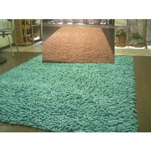 【2色展開】天然コットンシャギーラグマット200×250約3畳|local-tokitoki