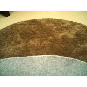 【2色展開】ムートン調シャギーラグ「ムータッチ」円型円形185cmボア※L|local-tokitoki|03