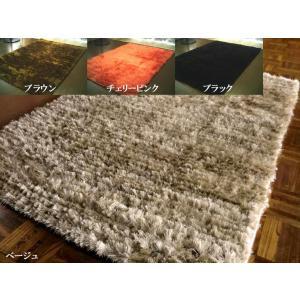 【4色展開】ウール 入 洗練 シャギーラグ 190×190 約 2畳 wool ラグ カーペット ラグマット 厚手 北欧 夏 カーペット 絨毯|local-tokitoki