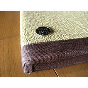 全厚3cm/衝撃吸収畳/くつろぎの和空間。ユニット畳 1枚 約82×164×3cm:防音対策・床キズ防止。 防寒/断熱/暑さ対策/節電|local-tokitoki|03