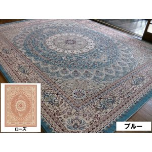 古典ペルシャ柄 トルコ製 50万ノット 200×250 約 3畳 ラグ ラグマット 北欧 夏 カーペット 絨毯 おしゃれ ウィルトン織 ホットカーペットカバー対応|local-tokitoki