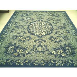 WOOL100%上品な自然色■輸入カーペット絨毯160×230約3畳ME(メダリオン)|local-tokitoki