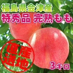 「極上のフルーツセレクション」会津産 桃 特秀品 約3kg(9〜11玉) 匠の桃を産地直送もぎたてをお届けします「贈答用にも最適です」|localtoglobal