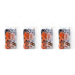 「山内果樹園」 会津みしらずあんぽ柿 230g(4〜6個入り)×4袋セット 干し柿 身知らず柿 localtoglobal