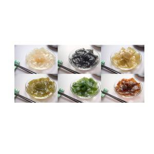 こだわりの手作りスプーンコンニャク 6種類セット「白・桐炭・エゴマ実・エゴマの香り・山椒・よもぎ」会津こんにゃく芋使用 蒟蒻|localtoglobal