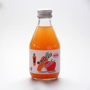 会津 無添加 キャロリン「6本セット」りんごとにんじんのミックスジュース 果汁100%|localtoglobal