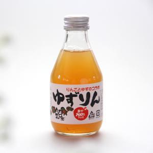 会津 無添加 ゆずりん「6本セット」柚子とりんごのスッキリジュース 果汁100%|localtoglobal