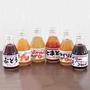 会津 無添加 果汁100%ジュース「6本セット」|localtoglobal