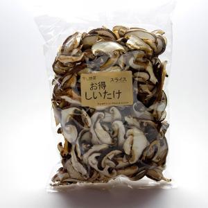 福島県産 乾燥しいたけスライス 60g×3袋セット|localtoglobal