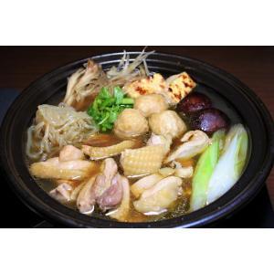 川俣シャモ軍鶏鍋セット|localtoglobal