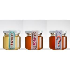 「ハニー松本」会津産天然蜂蜜 120g 3個セット「栃の木」「2個おまかせ」 localtoglobal