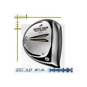 ●ASTRO TOUR S1・体積460cc・ヘッドの後方にアンダーサイドソールを装着。インパクト時...