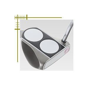 オデッセイ ホワイト ホット RX レディス パター 2ボール V-LINE 日本仕様|lockon