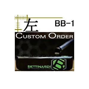 レフティ ベティナルディ パター BB1 日本仕様 16年モデル 長さ・ライ角・グリップ変更カスタムモデル