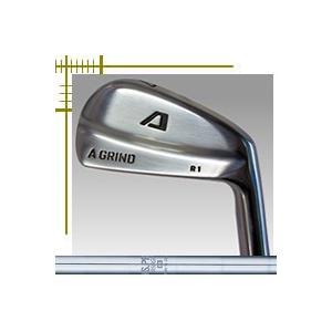 Aデザインゴルフ Aグラインド R1 ブレード アイアン 6本(5番〜P)セット NSプロ スチールシリーズ カスタムモデル