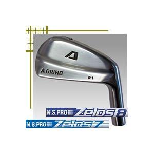 Aデザインゴルフ Aグラインド R1 ブレード アイアン 6本(5番〜P)セット NSプロ ゼロス7・8シリーズ カスタムモデル