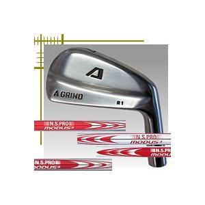Aデザインゴルフ Aグラインド R1 ブレード アイアン 6本(5番〜P)セット NSプロ モーダス3シリーズ カスタムモデル