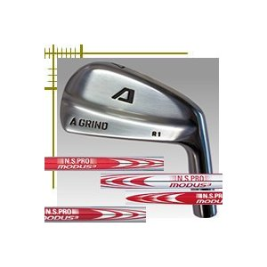 Aデザインゴルフ Aグラインド R1 ブレード アイアン 単品 4番 NSプロ モーダス3シリーズ カスタムモデル