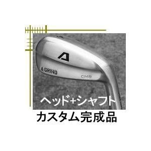 Aデザインゴルフ Aグラインド CMB アイアン型 ハイブリッド ヘッド+シャフト カスタムクラブ完成品|lockon
