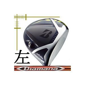 先行予約 レフティ ブリヂストンゴルフ ツアーB JGR ドライバー ディアマナ RFシリーズ カスタムモデル 18年モデル|lockon